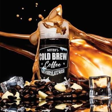 White Chocolate Mocha Nitros Cold Brew Coffee Shortfill 100ml