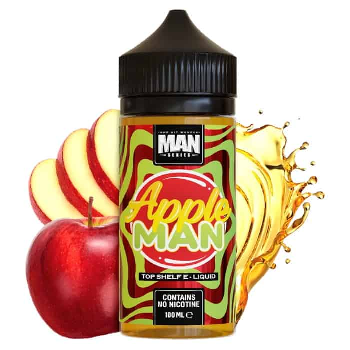 Apple Man One Hit Wonder Shortfill 100ml