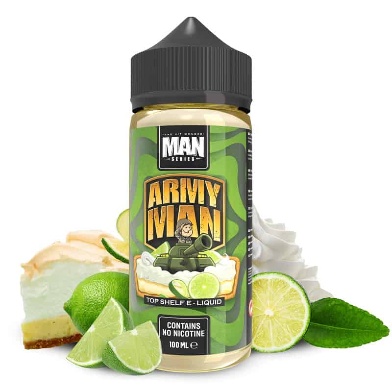 Army Man One Hit Wonder Man Series Shortfill 100ml