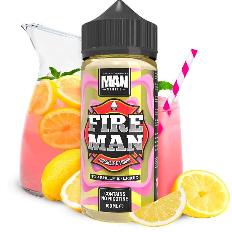 Fire Man One Hit Wonder Man Series Shortfill 100ml