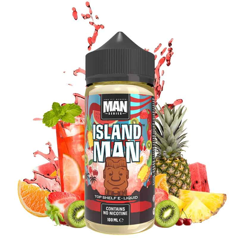 Island Man One Hit Wonder Man Series Shortfill 100ml