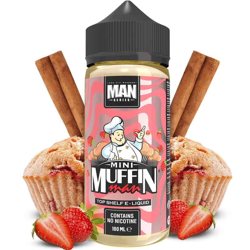 Mini Muffin Man One Hit Wonder Man Series Shortfill 100ml