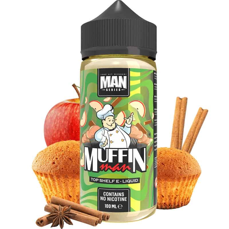 Muffin Man One Hit Wonder Man Series Shortfill 100ml