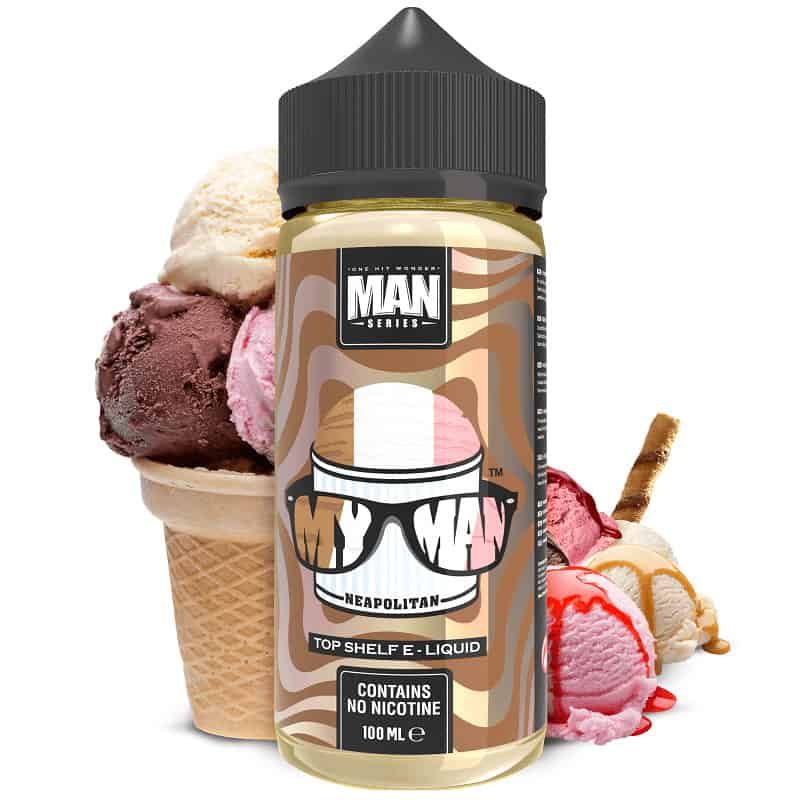My Man One Hit Wonder Man Series Shortfill 100ml