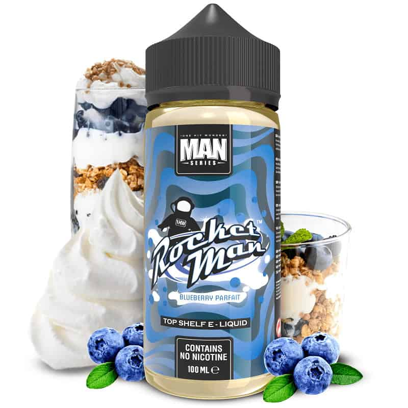 Rocket Man One Hit Wonder Man Series Shortfill 100ml