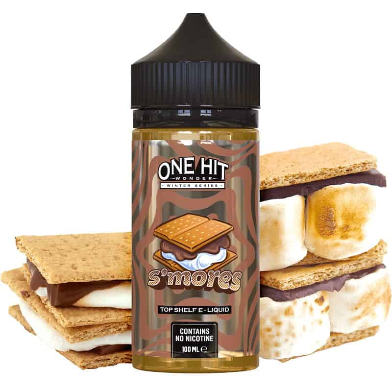 S'mores One Hit Wonder Winter Series Shortfill 100ml