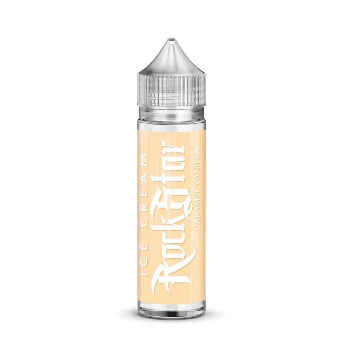 Caramel Vanilla Ice Cream Rockstar Shortfill 50ml