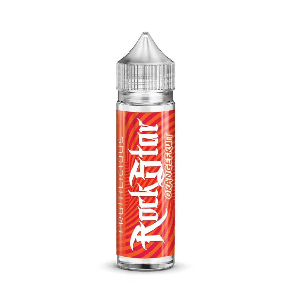 Orangefruit Rockstar Fruitilicious Shortfill 50ml