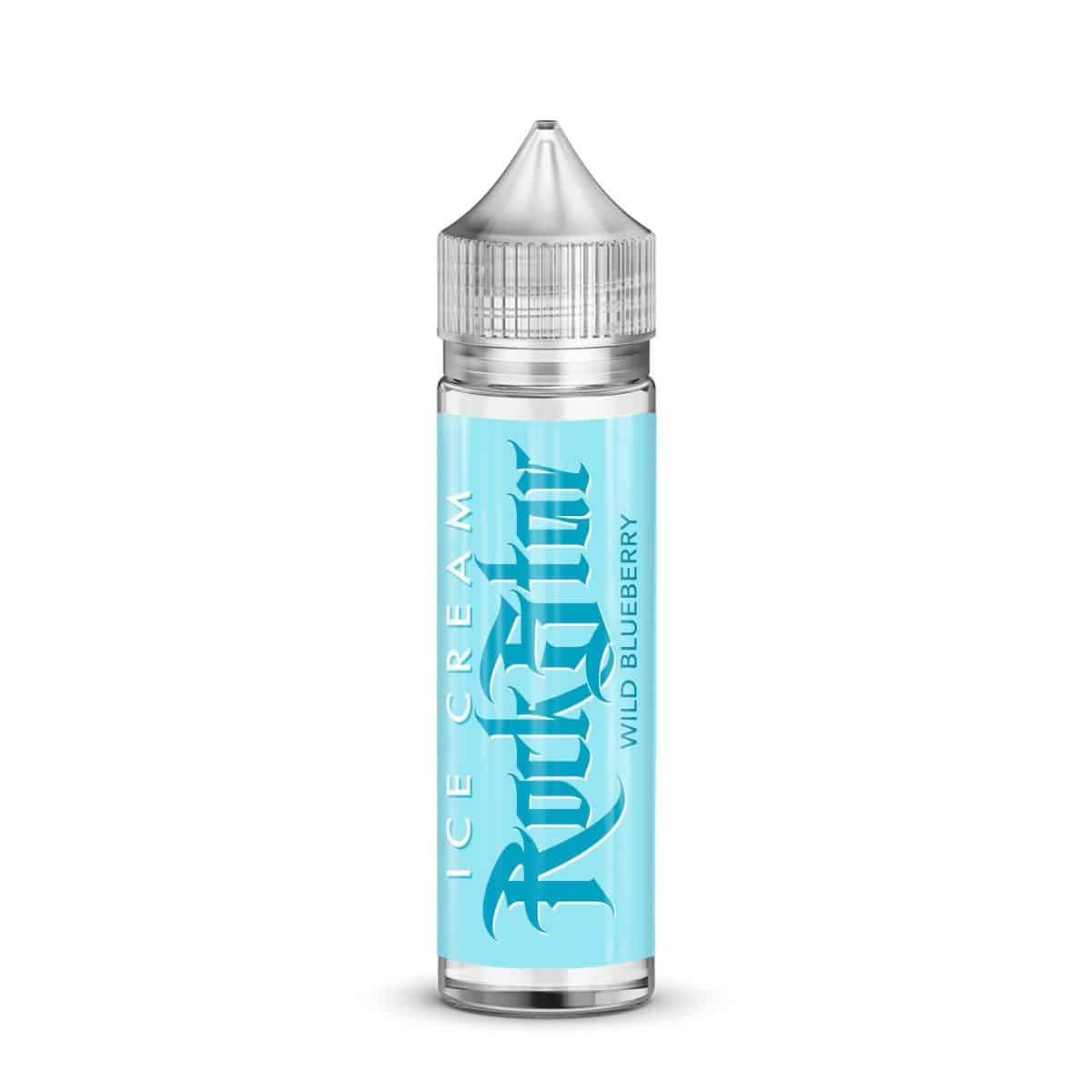 Wild Blueberry Ice Cream Rockstar Shortfill 50ml