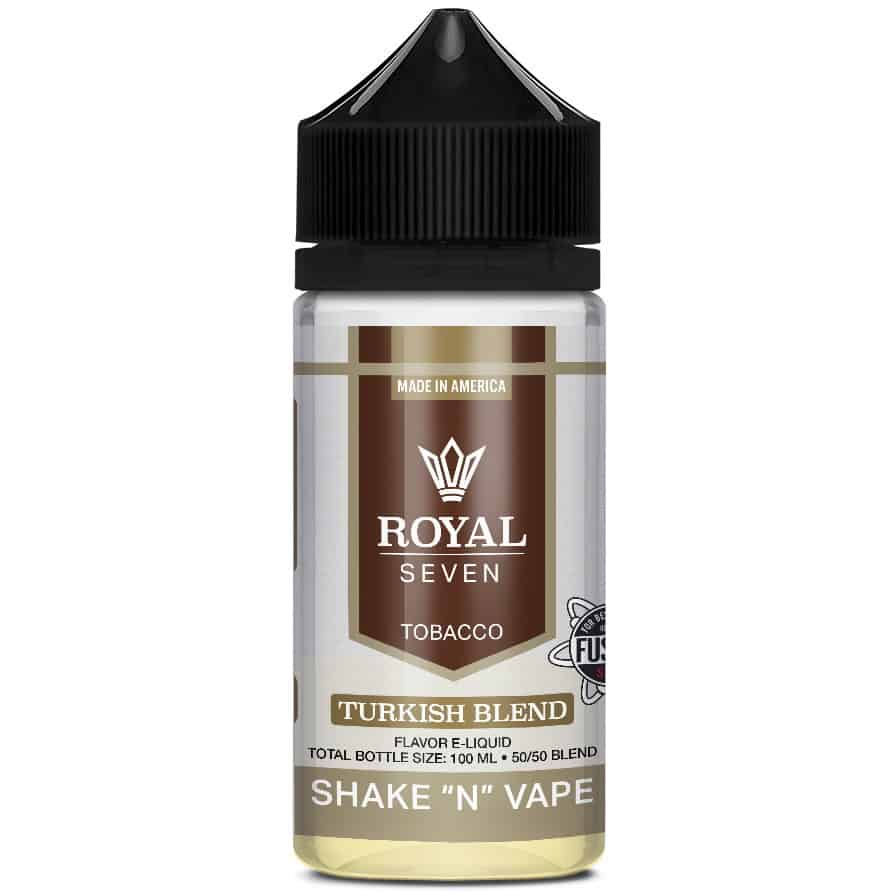 Turkish Blend Royal Seven Shortfill 50ml