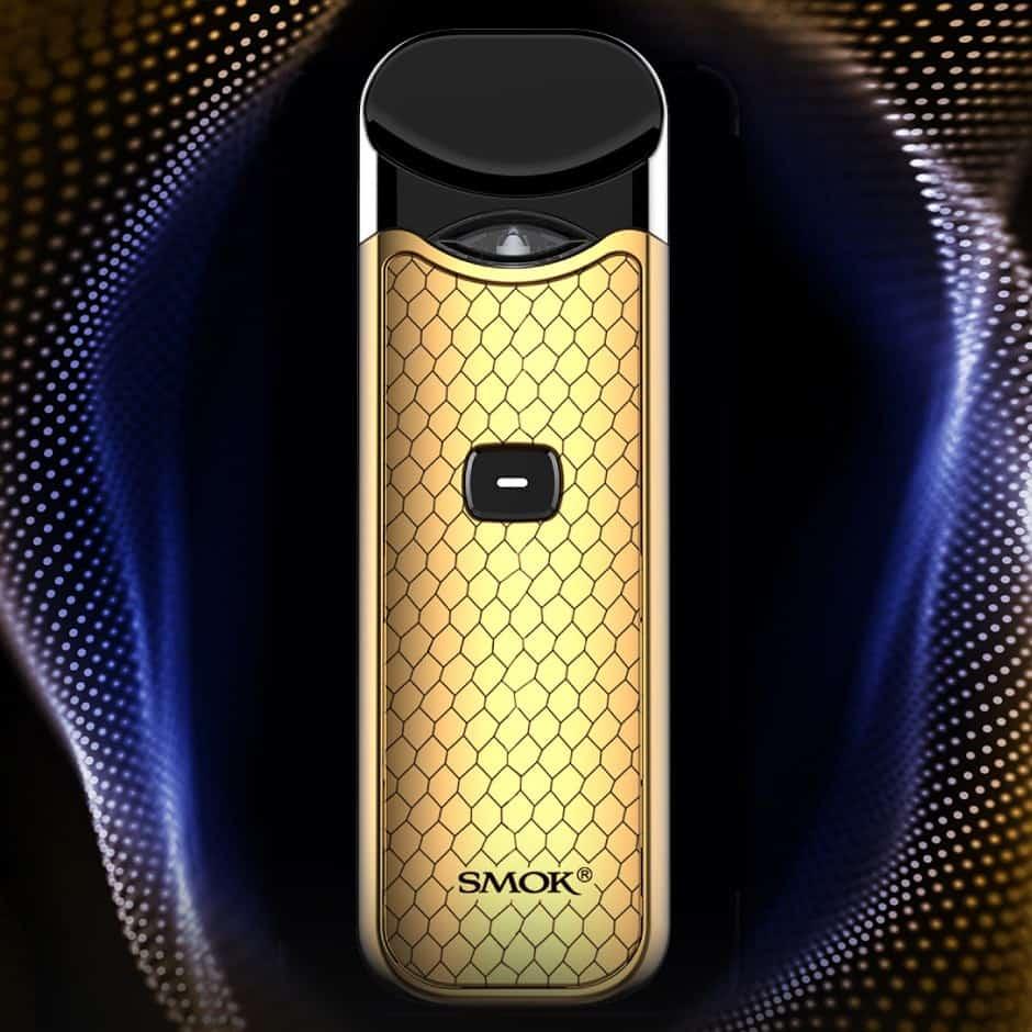 Smok Nord Kit Prism Gold On Digital Satin