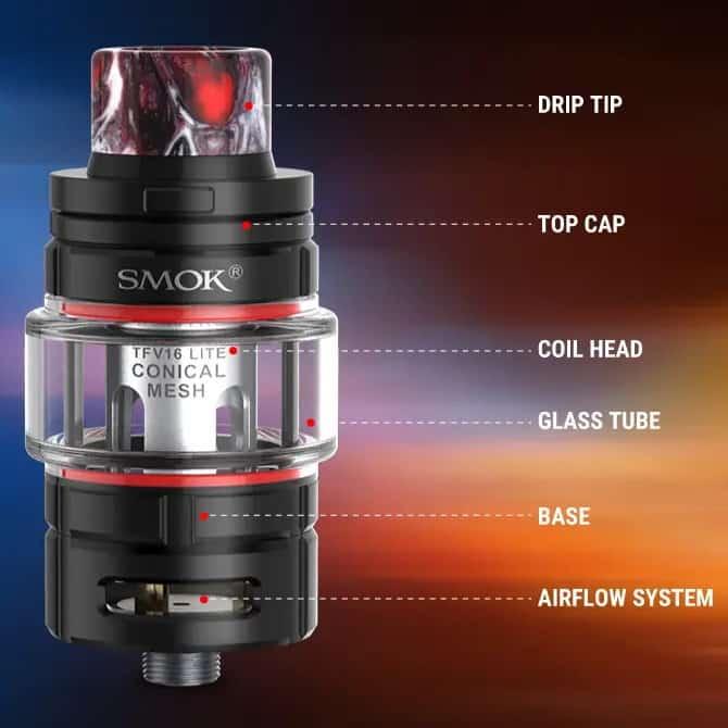 Smok Tfv16 Lite Components