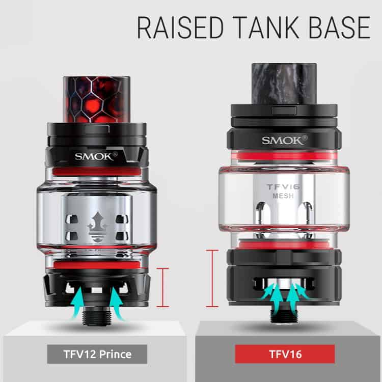 Smok Tfv16 Raised Base