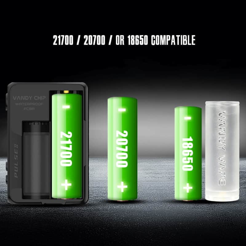 Vandy Vape Pulse 2 Battery Compatibility