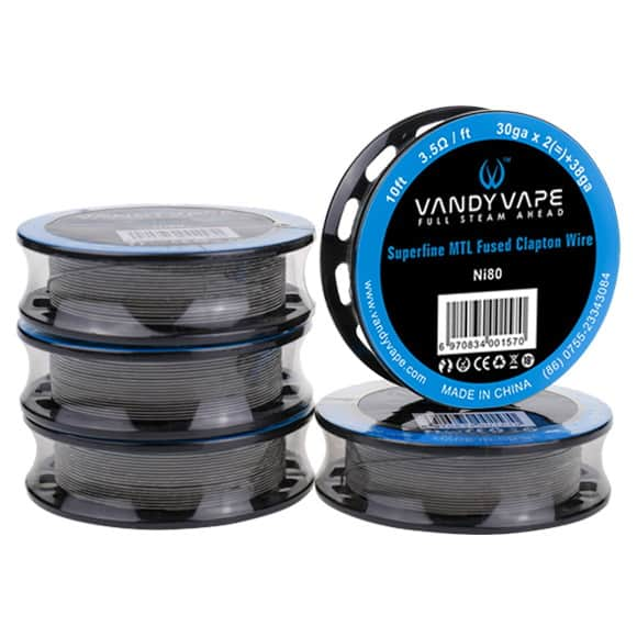 Vandy Vape Superfine MTL Clapton Wires