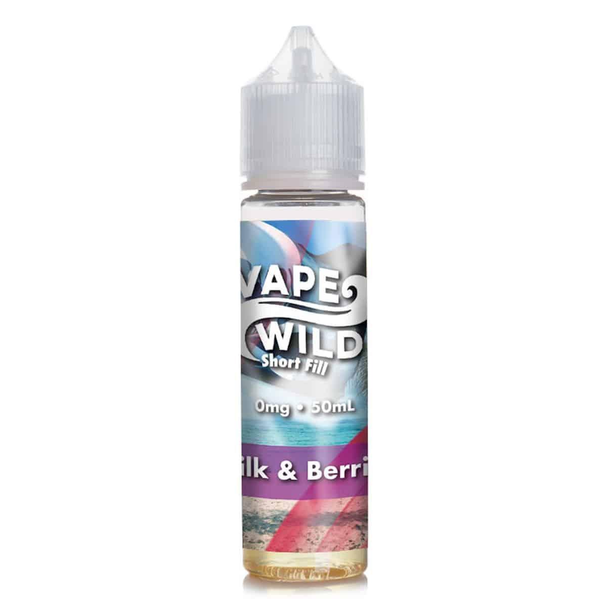 Milk & Berries Vape Wild Shortfill 50ml
