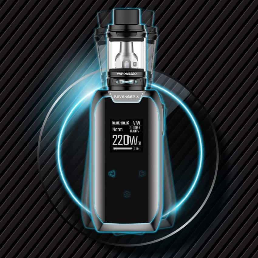 Vaporesso Revenger X Kit Features