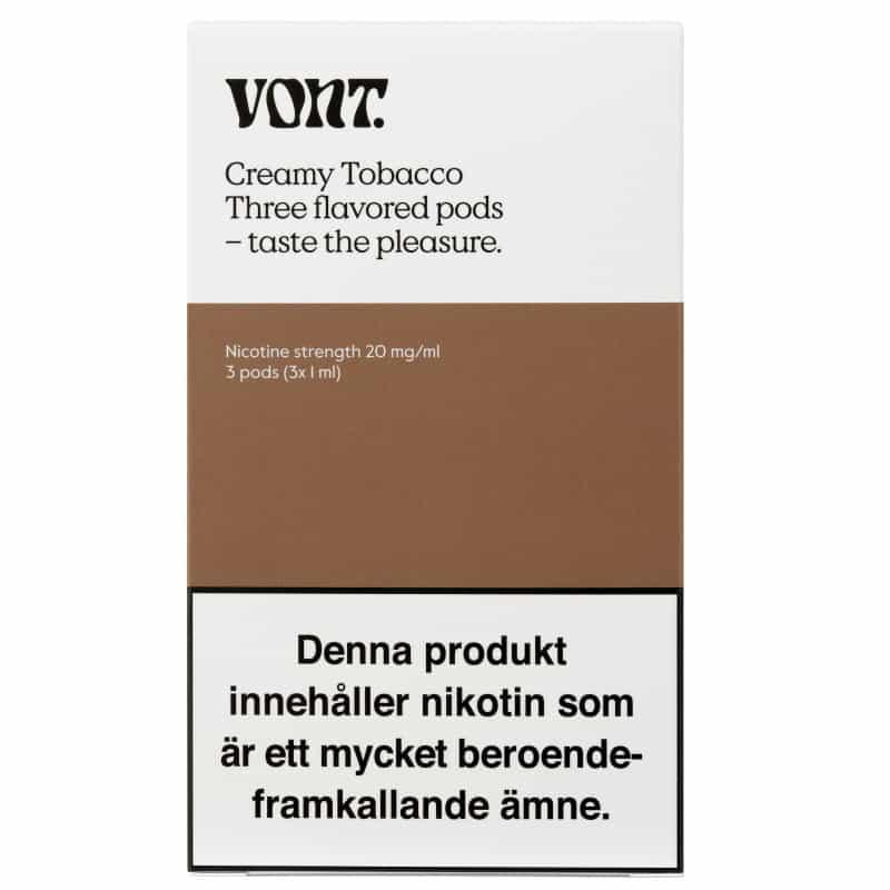 Vont Creamy Tobacco 3 Pods