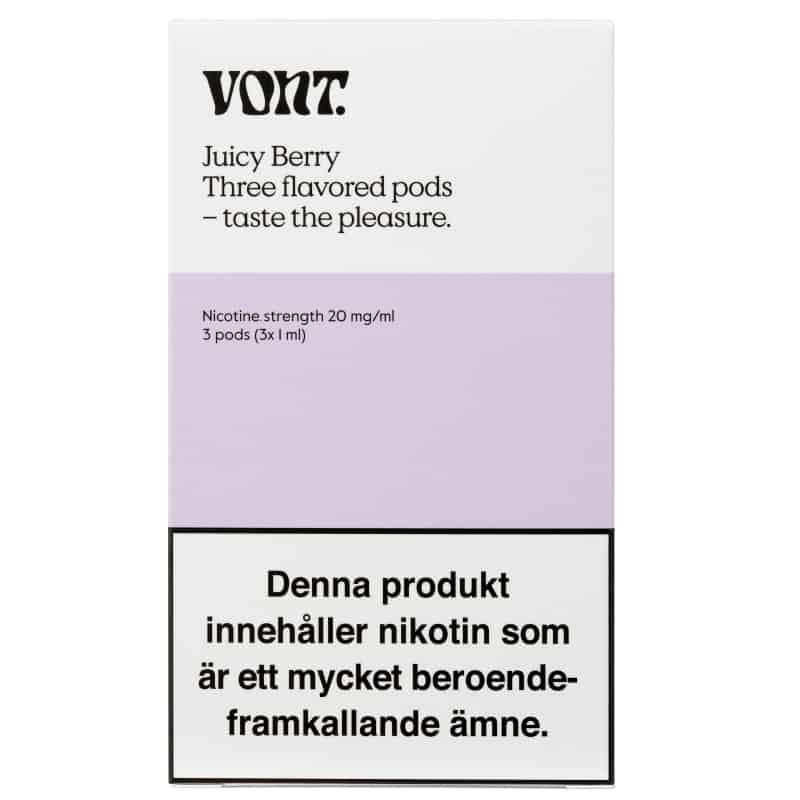 Vont Juicy Berry 3 Pods