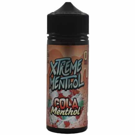 Cola Menthol Xtreme Menthol Shortfill 100ml
